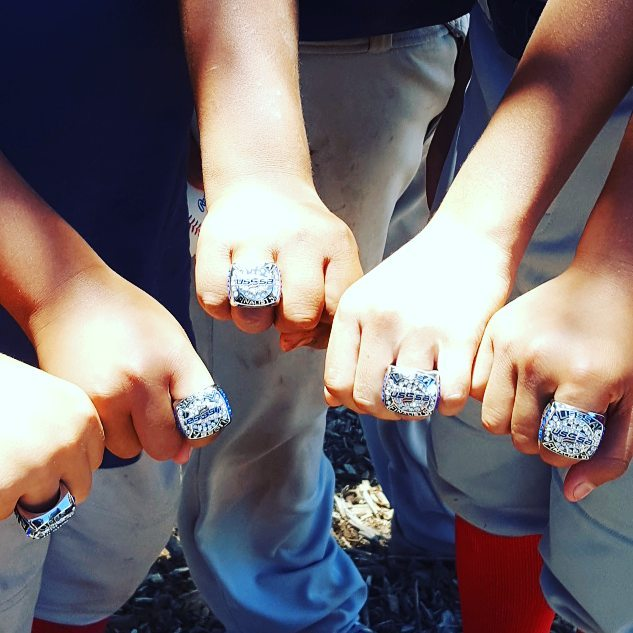 First Tournament, First Rings. #GoRiders!